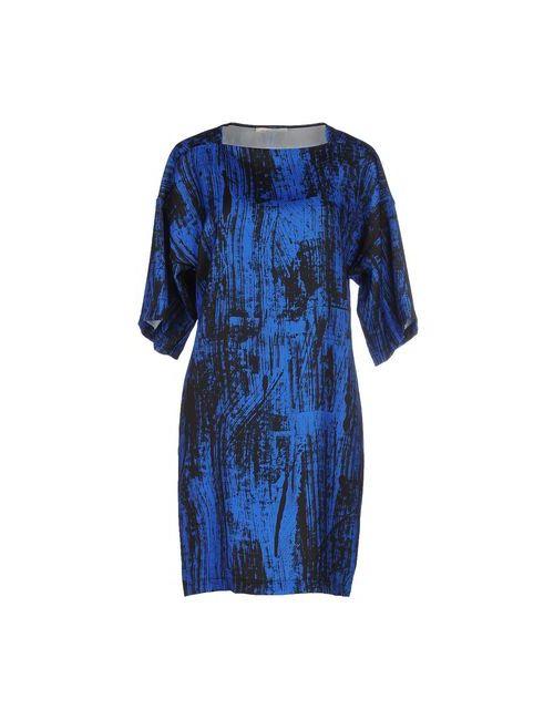 Eggs | Женское Синее Короткое Платье
