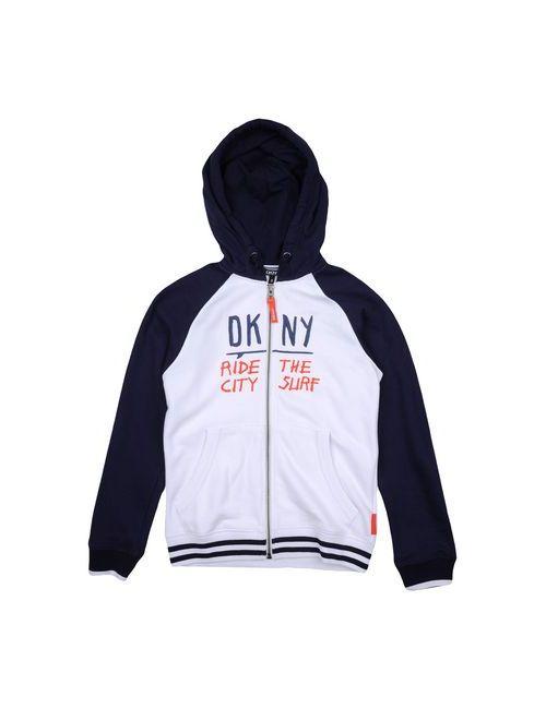 DKNY | Мужская Белая Толстовка