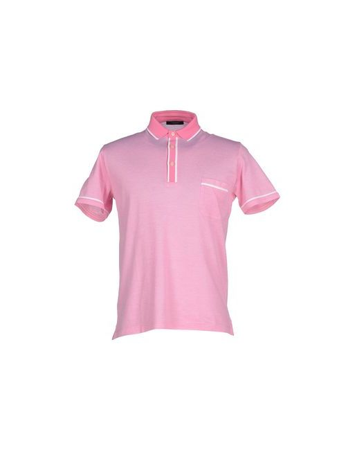 Gran Sasso | Мужское Розовое Поло