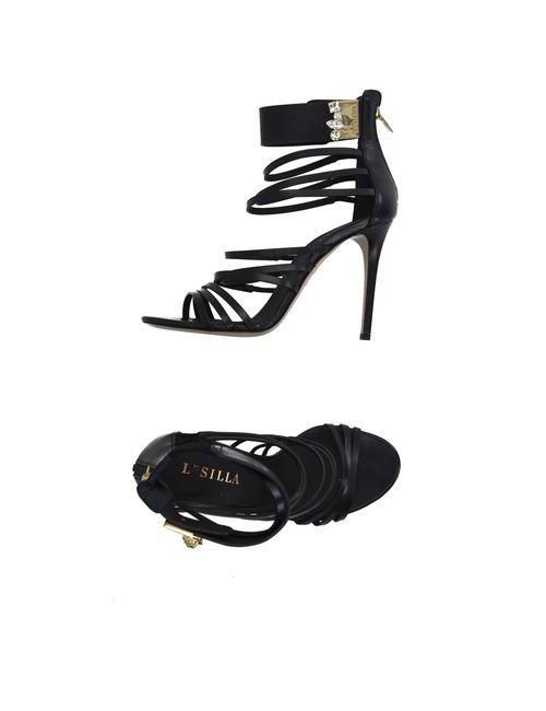 Le Silla | Женские Чёрные Сандалии