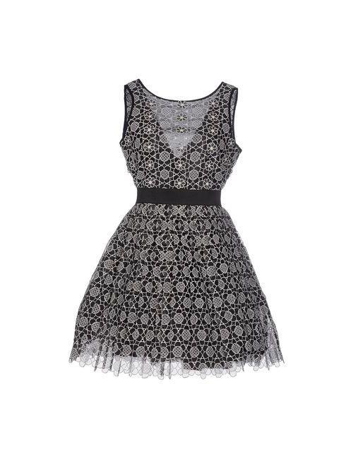 Manoush | Женское Чёрное Короткое Платье