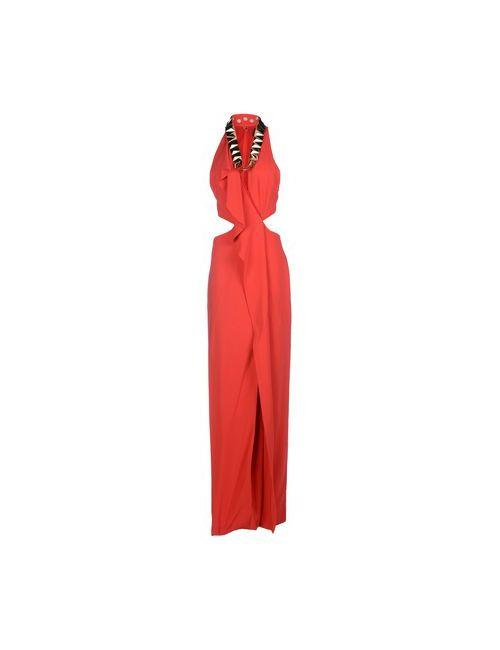Just Cavalli | Женское Красное Длинное Платье