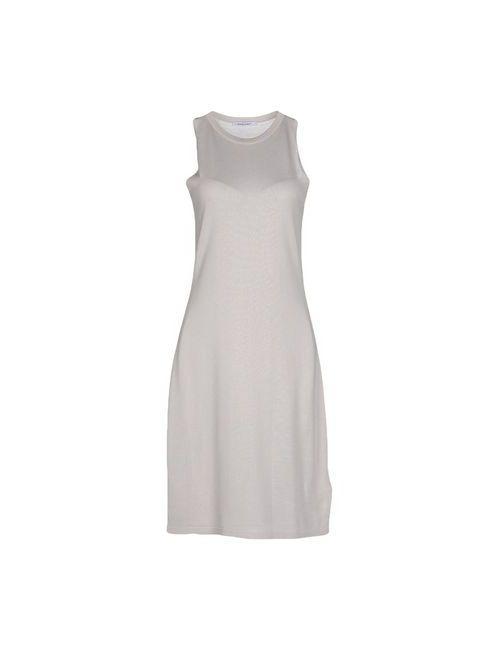 Gentryportofino | Женское Серое Платье До Колена