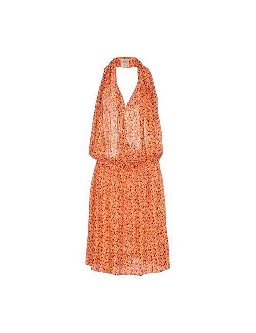 Attic And Barn | Женское Оранжевое Платье Длиной 3/4