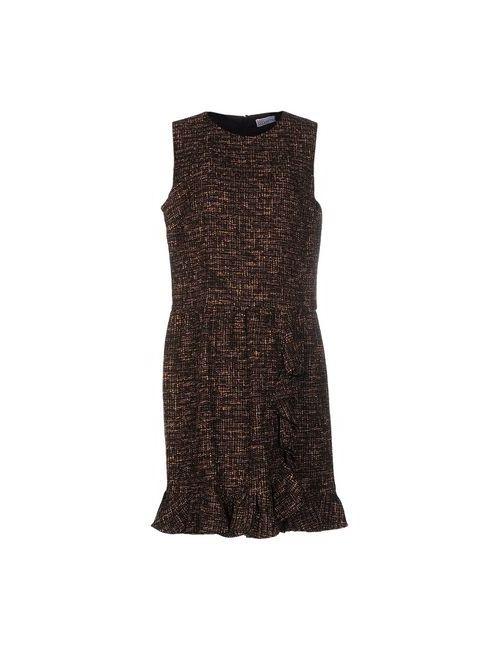 Red Valentino | Женское Коричневое Короткое Платье