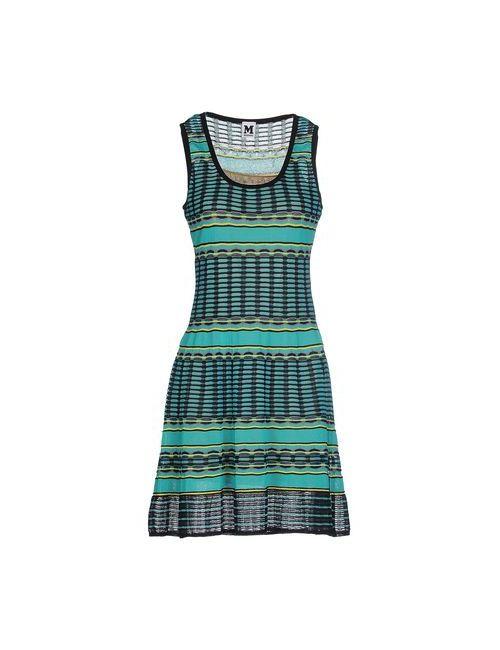 Missoni | Женское Бирюзовое Короткое Платье
