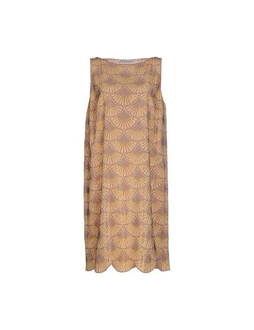 Gai Mattiolo | Женское Телесное Короткое Платье