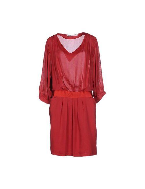 Fairly   Женское Красное Короткое Платье
