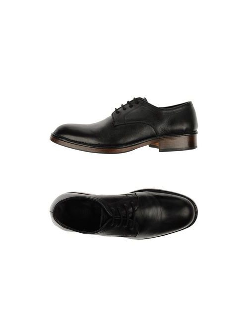 John Varvatos   Мужская Серая Обувь На Шнурках