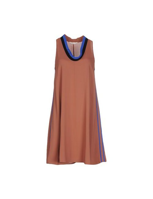 Suoli | Женское Телесное Короткое Платье