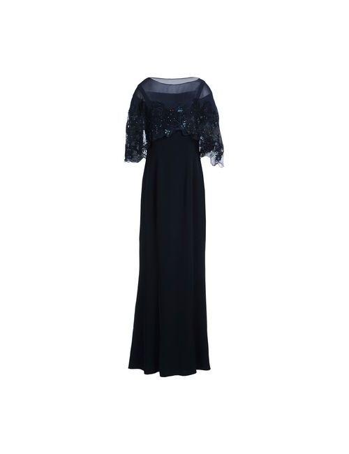 MUSANI   Женское Синее Длинное Платье