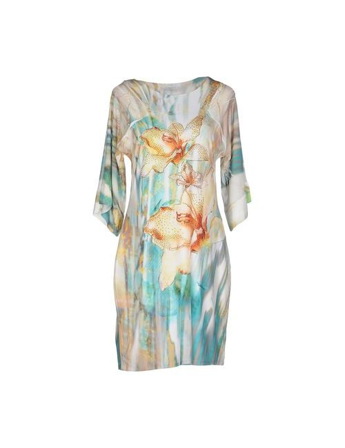 S-TWELVE | Женское Жёлтое Короткое Платье