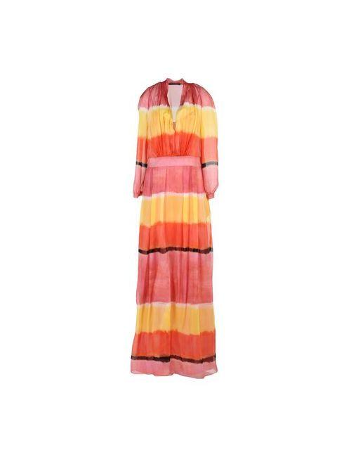 Alberta Ferretti | Женское Жёлтое Длинное Платье