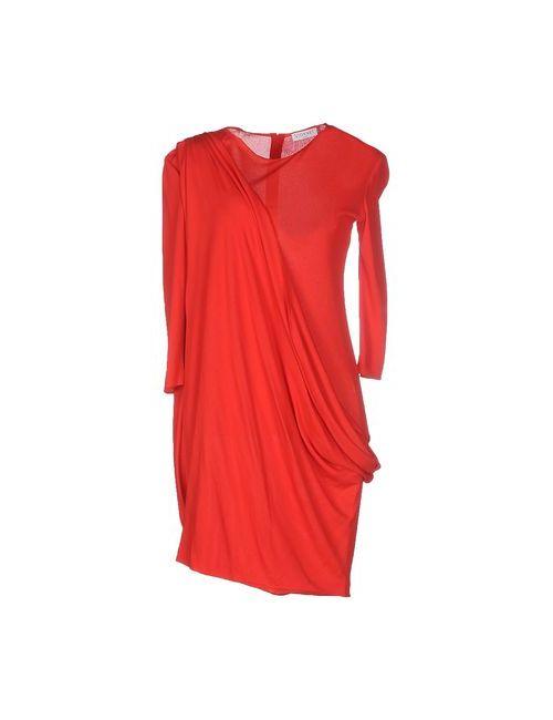 Vionnet | Женское Красное Короткое Платье