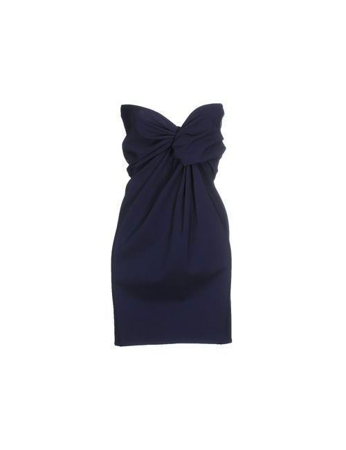 Burberry Prorsum | Женское Синее Короткое Платье