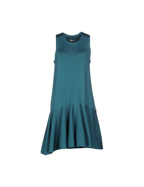 ISSA | Женское Цвет Морской Волны Короткое Платье