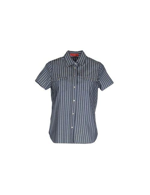 Manila Grace Denim | Женская Синяя Джинсовая Рубашка