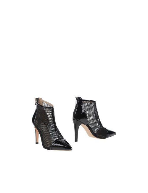 Luciano Barachini | Женские Чёрные Полусапоги И Высокие Ботинки