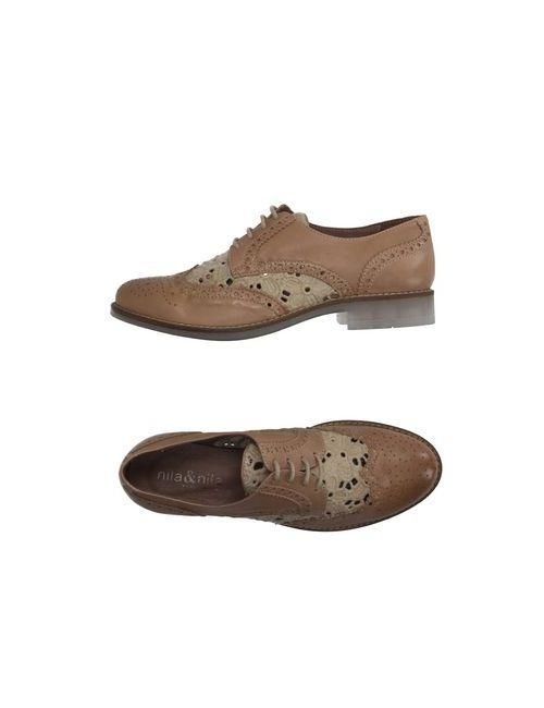 Nila&Nila | Женская Обувь На Шнурках