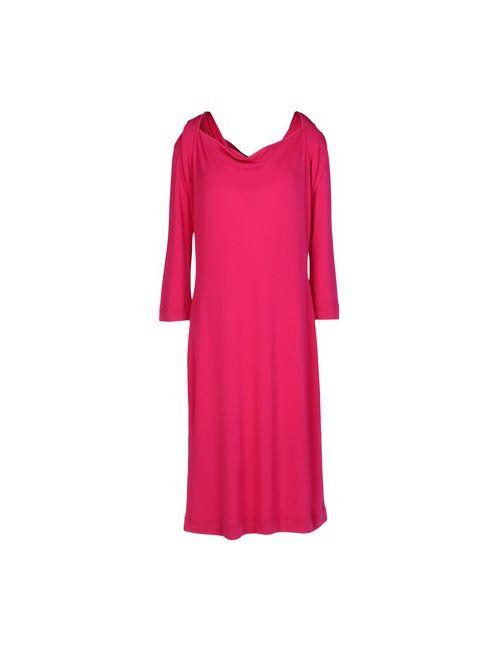 Les Copains   Женское Фиолетовое Платье До Колена