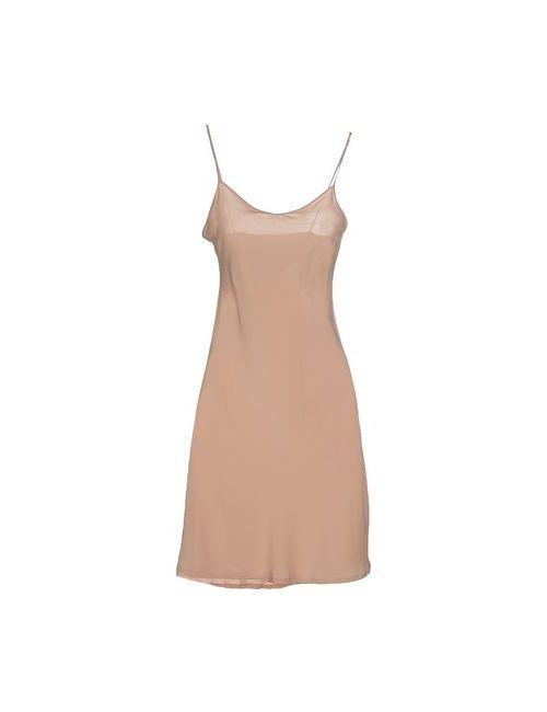 BARNEYS NEW YORK | Женское Телесное Короткое Платье