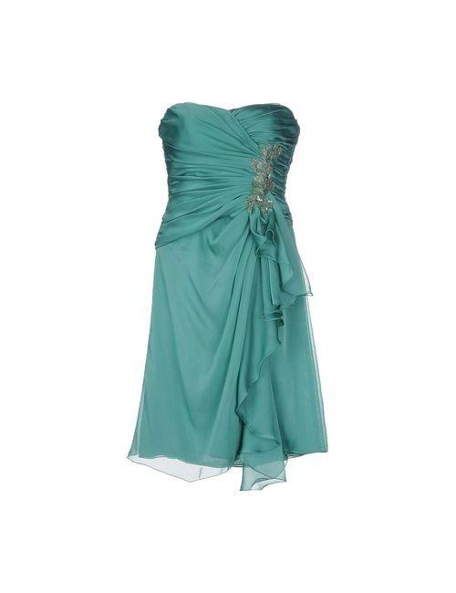 Cailan'D | Женское Зелёное Короткое Платье