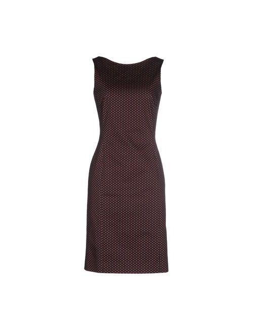 Alberto Biani | Женское Черный Платье До Колена