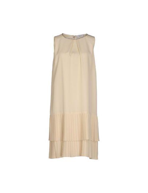 Blugirl Blumarine   Женское Слоновая Костящее Платье До Колена