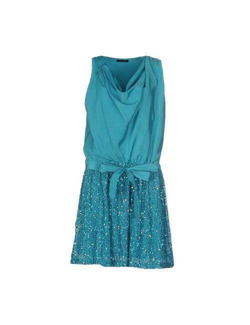 Pinko Black   Женское Бирюзовое Короткое Платье