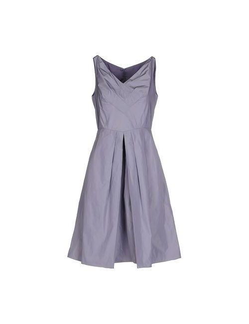 Aspesi | Женское Фиолетовое Платье До Колена