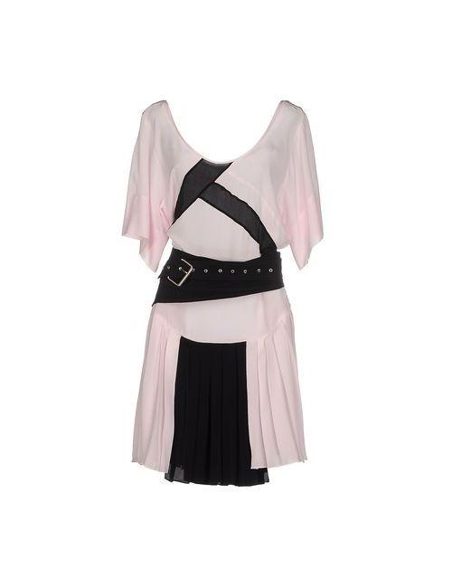 Uniqueness | Женское Розовое Короткое Платье