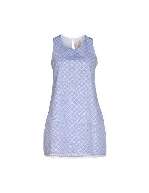 Dlindolls   Женское Голубое Короткое Платье