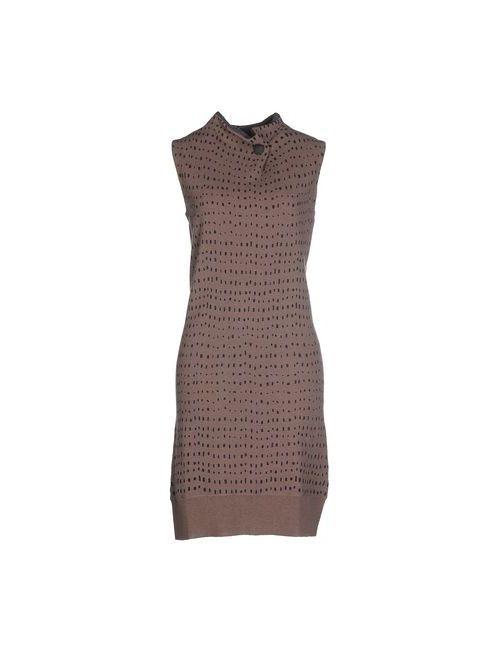 Altea | Женское Коричневое Короткое Платье