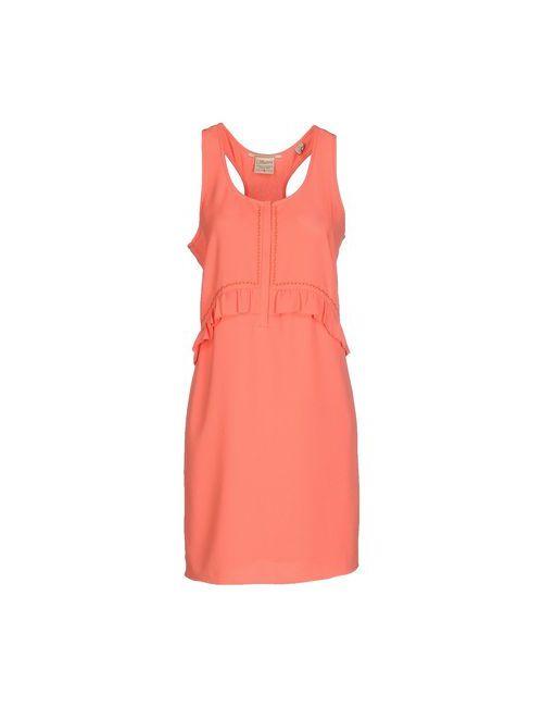 Maison Scotch | Женское Розовое Короткое Платье