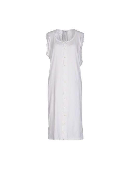 Y-3 | Женское Белое Платье До Колена