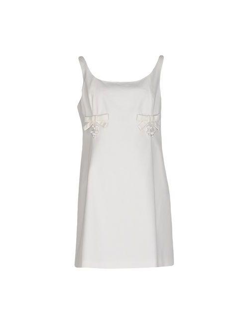 Moschino Cheap and Chic   Женское Белое Короткое Платье