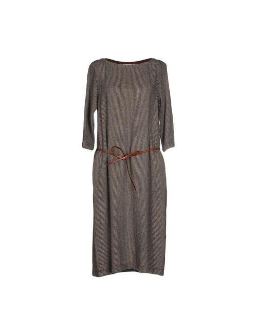 Momoní | Женское Коричневое Платье До Колена