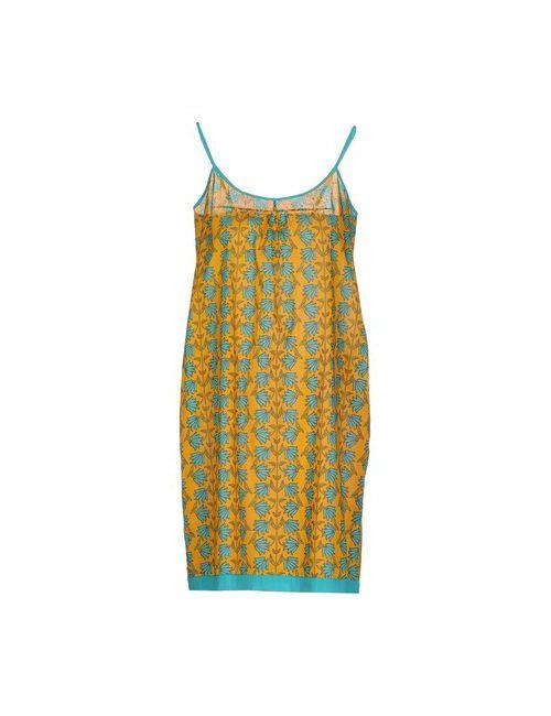 OPALINE | Женское Охра Короткое Платье