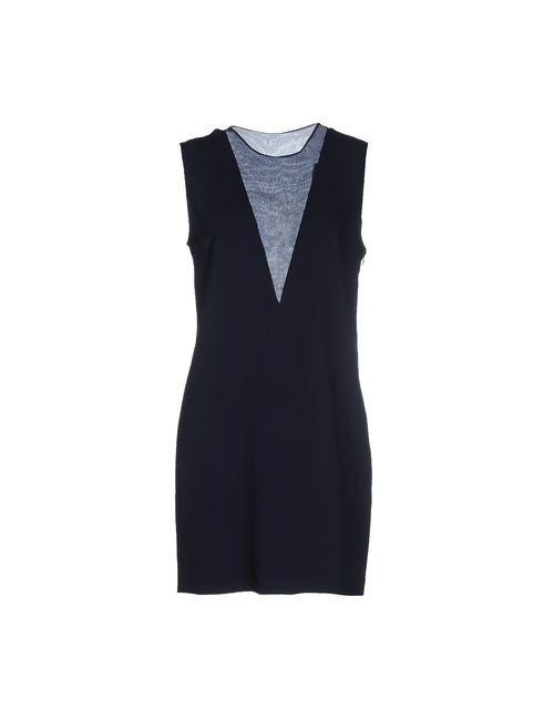 Joseph | Женское Синее Короткое Платье