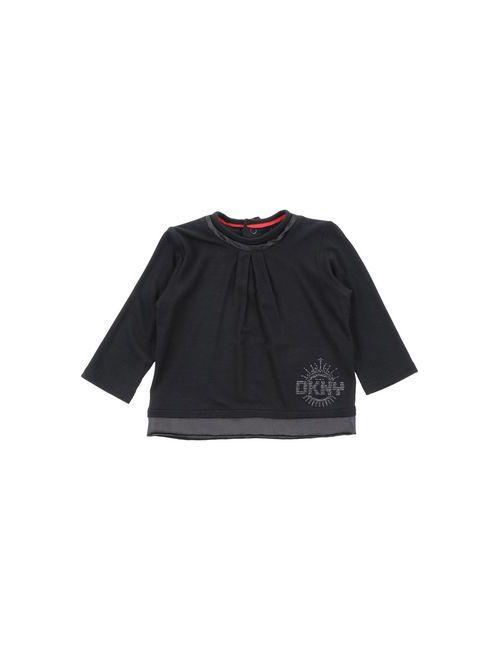 DKNY | Женская Чёрная Футболка