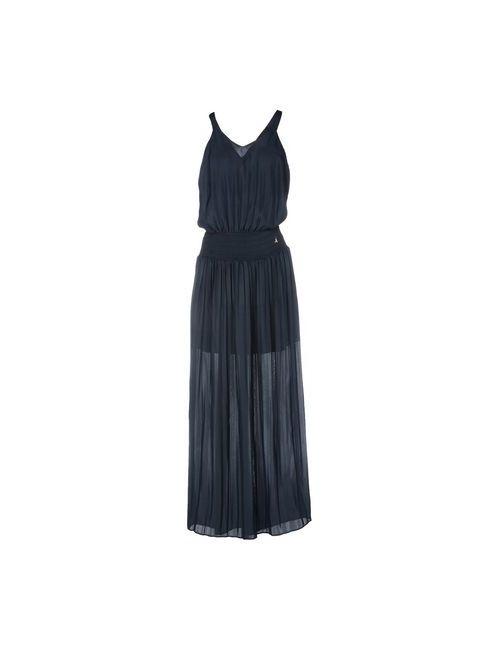Patrizia Pepe | Женское Синее Длинное Платье