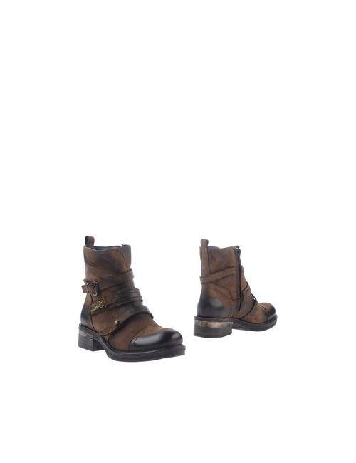 Thompson | Женские Хаки Полусапоги И Высокие Ботинки