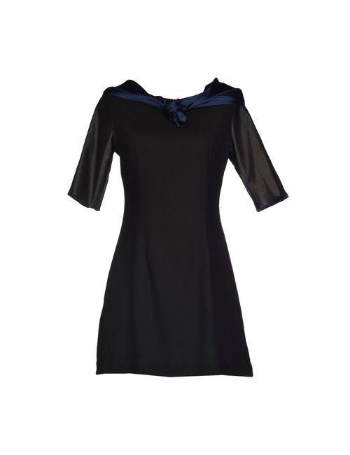 Uniform Union By Loyandford   Женское Чёрное Короткое Платье