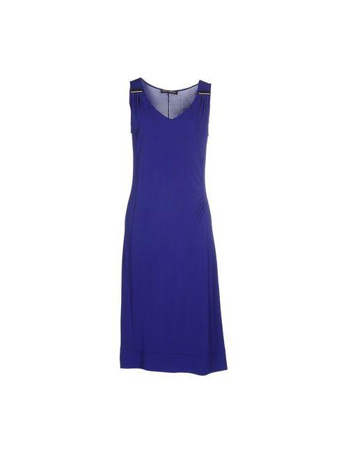 Domina | Женское Синее Платье До Колена