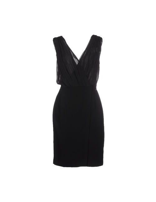 Passepartout Dress By Elisabetta Franchi Celyn B.   Женское Чёрное Платье До Колена