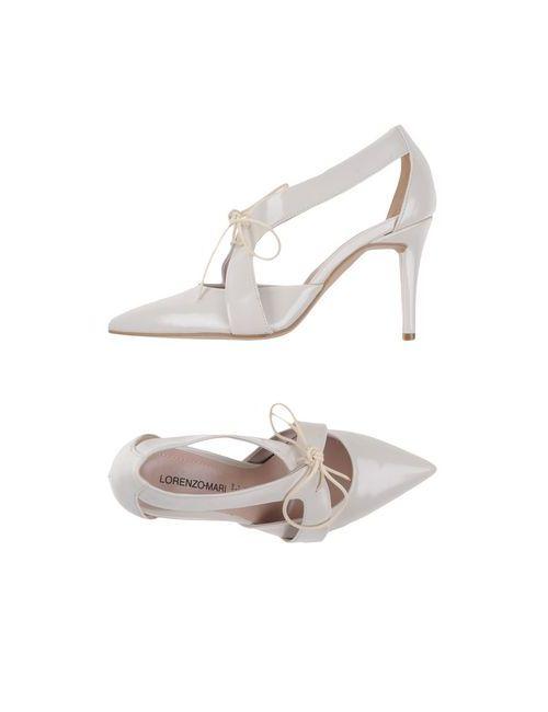 Lorenzo Mari | Женская Белая Обувь На Шнурках