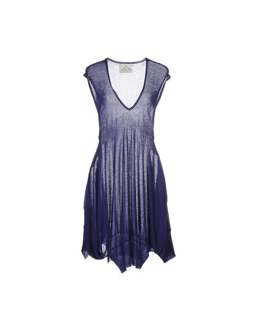 M.V. Maglieria Veneta   Женское Синее Короткое Платье