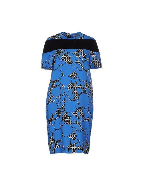 Balenciaga | Женское Синее Короткое Платье