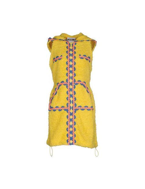 Moschino Couture | Женское Жёлтое Короткое Платье