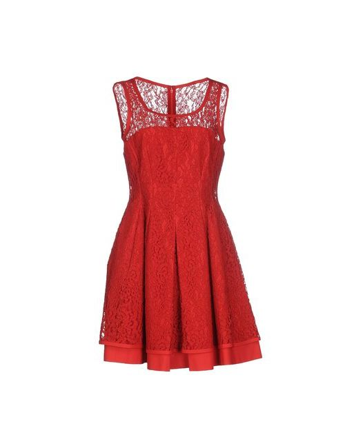 Philosophy Di Alberta Ferretti | Женское Красное Короткое Платье